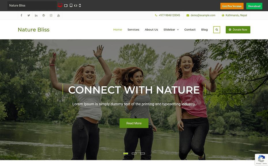 Nature Bliss Theme